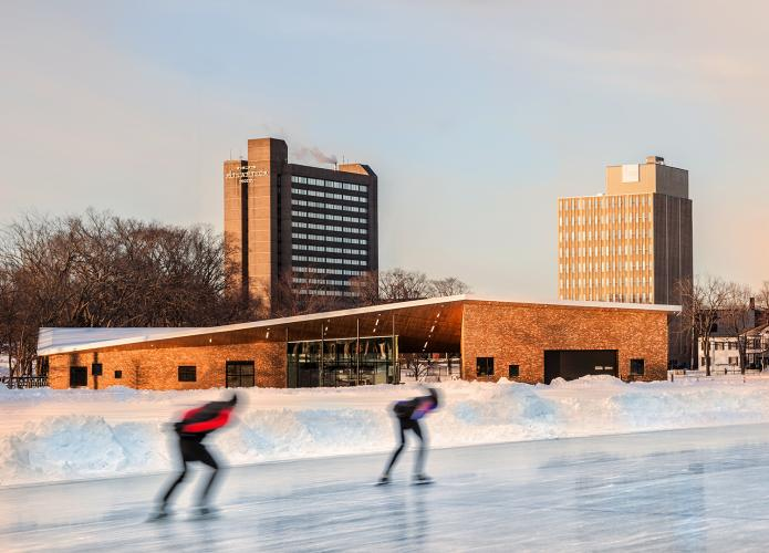 Emera Oval Morning Skaters